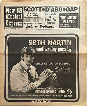 jimi hendrix newspaper/new musical express june 22 1968