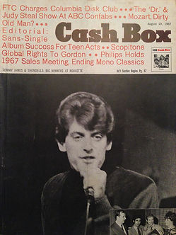 collector magazine/ cash box 19/8/67