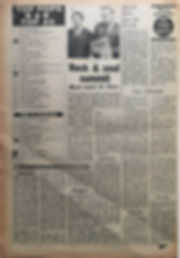 jimi hendrix newspaper 1968/top pops / top 20