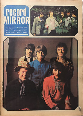 jimi hendrix collector newspapes/record mirror 14/10/1967