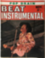 jimi hendrix magazine 1968/ beat instrumental november 1968
