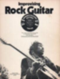 jimi hendrix book/improvising rock guitar 1973