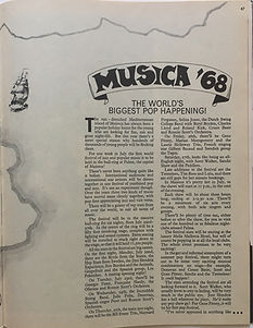 jimi hendrix magazine/rave may 1968/spain musica '68