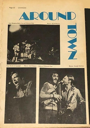 jimi hendrix newspaper 1970 /changes feb. 28, 1970