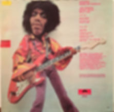 jimi hendrix rotily vinyls collector/band of gypsys 1970 norway NCB