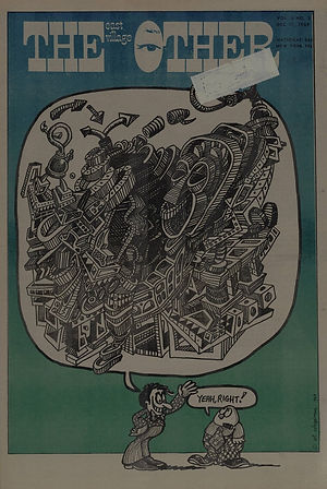 jimi hendrix newspapers 1969/the east village other  dec. 17, 1969