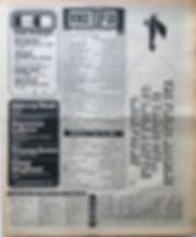 jimi hendrix newspaper 1969/NME top 30 / crosstown traffic N°30 / april 12 1969