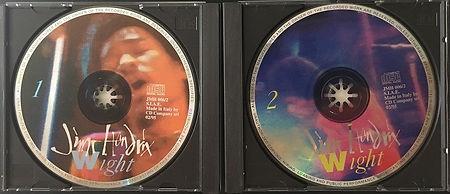 jimi hendrix bootlegs cd / jimi hendrix wight 2cd