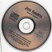 jimi hendrix bootlegs cds 1969/  auld lang syne vol.1