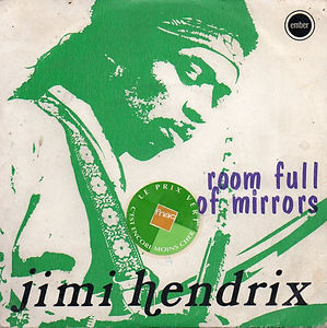 jimi hendrix singles vinyls / room full of mirror