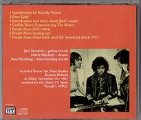jimi hendrix collector cd bootlegs/the vpro archives jimi hendrix