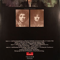 jimi hendrix collector/electric ladyland reissue spanish 1977