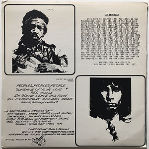 jimi hendrix bootlegs vinyl/1st edition sky high 1972