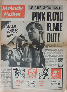 jimi hendrix collector/melody maker 19/8/1967