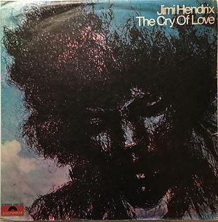 jimi hendrix vinyl lp album/cry of love israel 1971