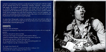 jimi hendrix collecto bootlegs cd/no more a rolling stone/booklet