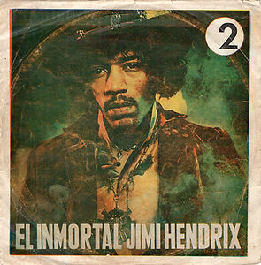 hendrix rotily vinyl/hey joe/purple haze. bolivia