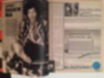 jimi hendrix rotily magazine/bravo article 4/67