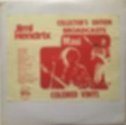 jimi hendrix bootlegs vinyls 1970 / tmoq insert  :  broadcast / maui hawii color