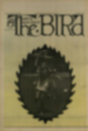jimi hndrix newspaper 1969/ the bird great speckled september 22 1969