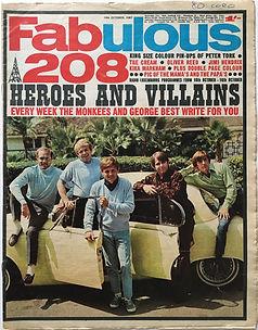 jimi hendrix collector newspaper/fabulous 208/14/10/67