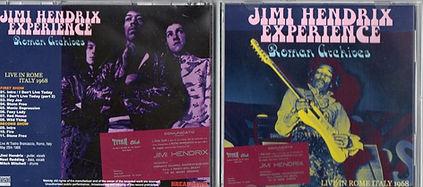 jimi hendrix bootleg cd/roman archives