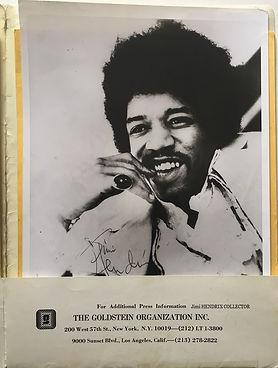 jimi hendrix memorabilia 1969/kit press 1969