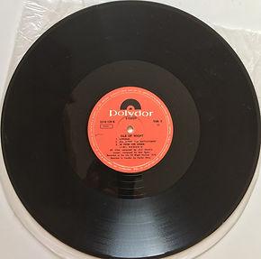 jimi hendrix vinyl album/side 2:isle of wight 1972 israel