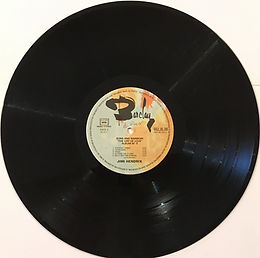 jimi hendrix vinyls albums LPs/ side 2 : the cry of love barclay france 1975