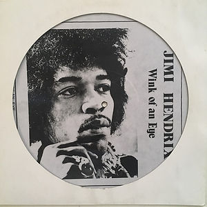 jimi hendrix bootlegs vinyls 1970 /  wink of an eye - picture disc