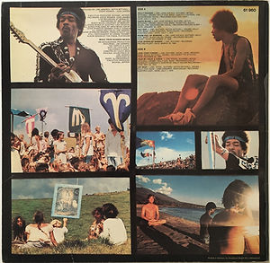 jimi hendrix vinyls albums/rainbow bridge edition club germany 1971