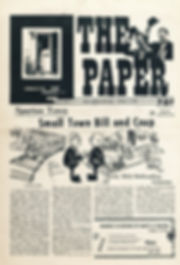 jimi hendrix newspaper/the paper october 2 1967