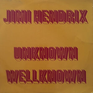 jimi hendrix vinyls bootlegs 1970 /unknown wellknown  1972