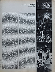 jimi hendrix magazines 1970 death/ rock & folk : october 1970 / wight blues