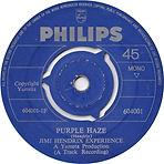 jimi henrix vinyl single/purple haze  nigeria