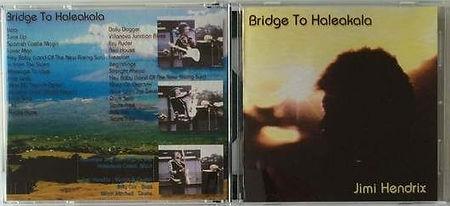 jimi hendrix bootlegs cd / bridge to haleakala /
