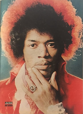 jimi hendrix magazines 1970 /paris match  september 12, 1970