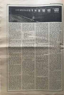 jimi hendrix newspaper 1969/rolling stone part 4  / woodstock