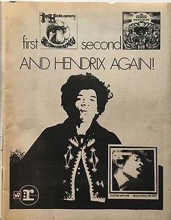 jimi hendrix magazine 1968/ scene november 1968