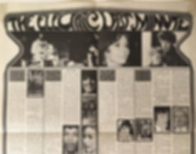 jimi hendrix magazine/poster : the electic last minute/june 1968 eye
