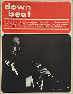 jimi hendrix magazines 1968/ down beat  may 2  1968