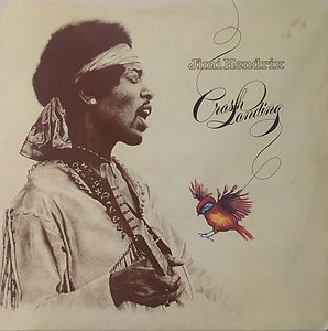 jimi hendrix vinyl album lp /crash landing  1975 / polydor records