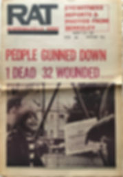jimi hendrix newspaper 1969/rat subterranean news may 23 1969