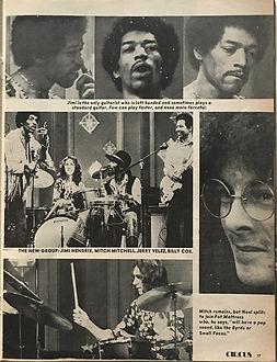 jimi hendrix magazines 1969/ circus november 1969