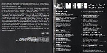 jimi hendrix collector / albert hall experience