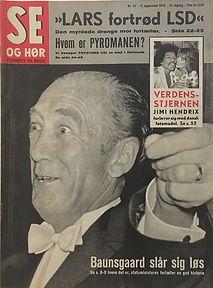 jimi hendrix magazines 1970 /se og hor  september 11, 1970