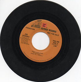 jimi hendrix singles vinyls/side2 auld lang syne/ 1974
