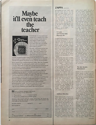 jimi hendrix magazine / life june 1968