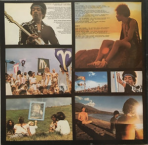 rainbow bridge vinyls album/jimi hendrix 1971 first edition france