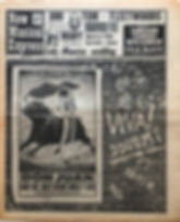 jimi hendrix newspaper 1969/ new musical express february 22 1969
